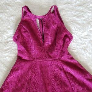 Free People fuchsia dress